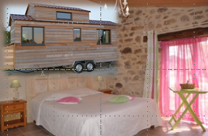 chambres et tiny house